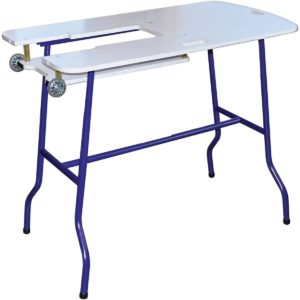 Sullivans Sew & Go Amendable Height Foldable Sewing Table