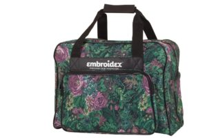 Floral Sewing Machine Carrying Case