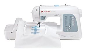 Singer Futura XL-400 Portable Embroidery Sewing Machine