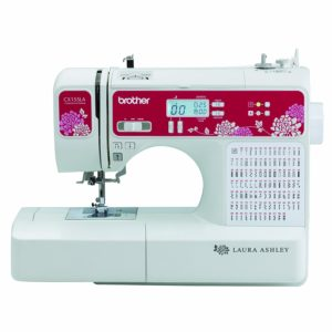 Laura Ashley Limited Edition CX155LA Computerized Sewing Machine with Built-in font for Monogramming
